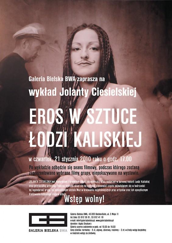 Eros w sztuce Łodzi Kaliskiej