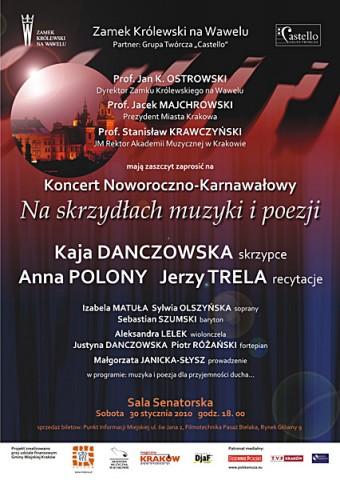 Koncert noworoczny na Wawelu