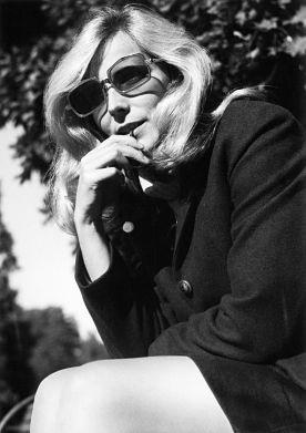 Agnieszka Osiecka, fot. Jan Borkowski