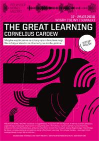 Plakat promujący projekt The Great Learning