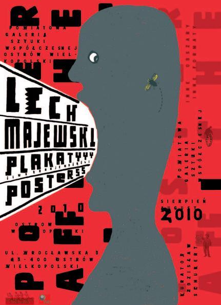 Plakat promujący wystawę.