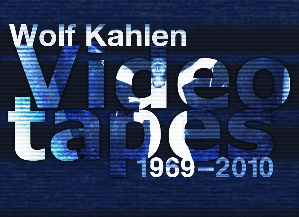 Wolf Kahlen, video tapes, materiały Centrum Sztuki WRO