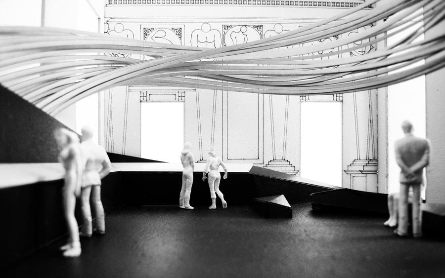 """Praca z wystawy """"Wizytowka Chopina"""""""