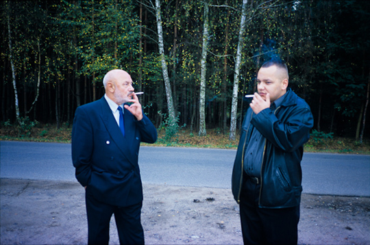 Fot. Łukasz Rusznica, Zdjęcie z pogrzebu