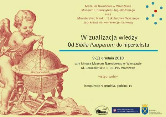 Wizualizacja Wiedzy - od Biblia Pauperum do hipertekstu, Warszawa