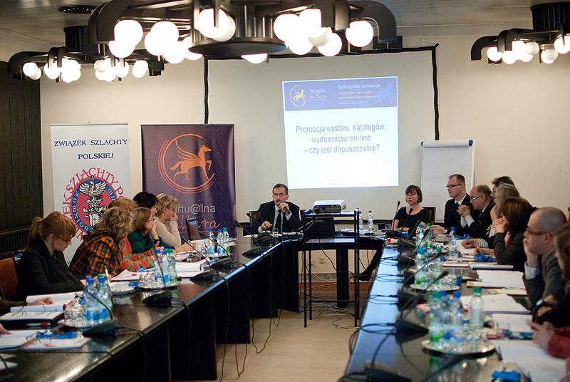 I Ogólnopolska Konferencja Wirtualna Kultura - prawne aspekty rozpowszechniania zbiorów w Internecie
