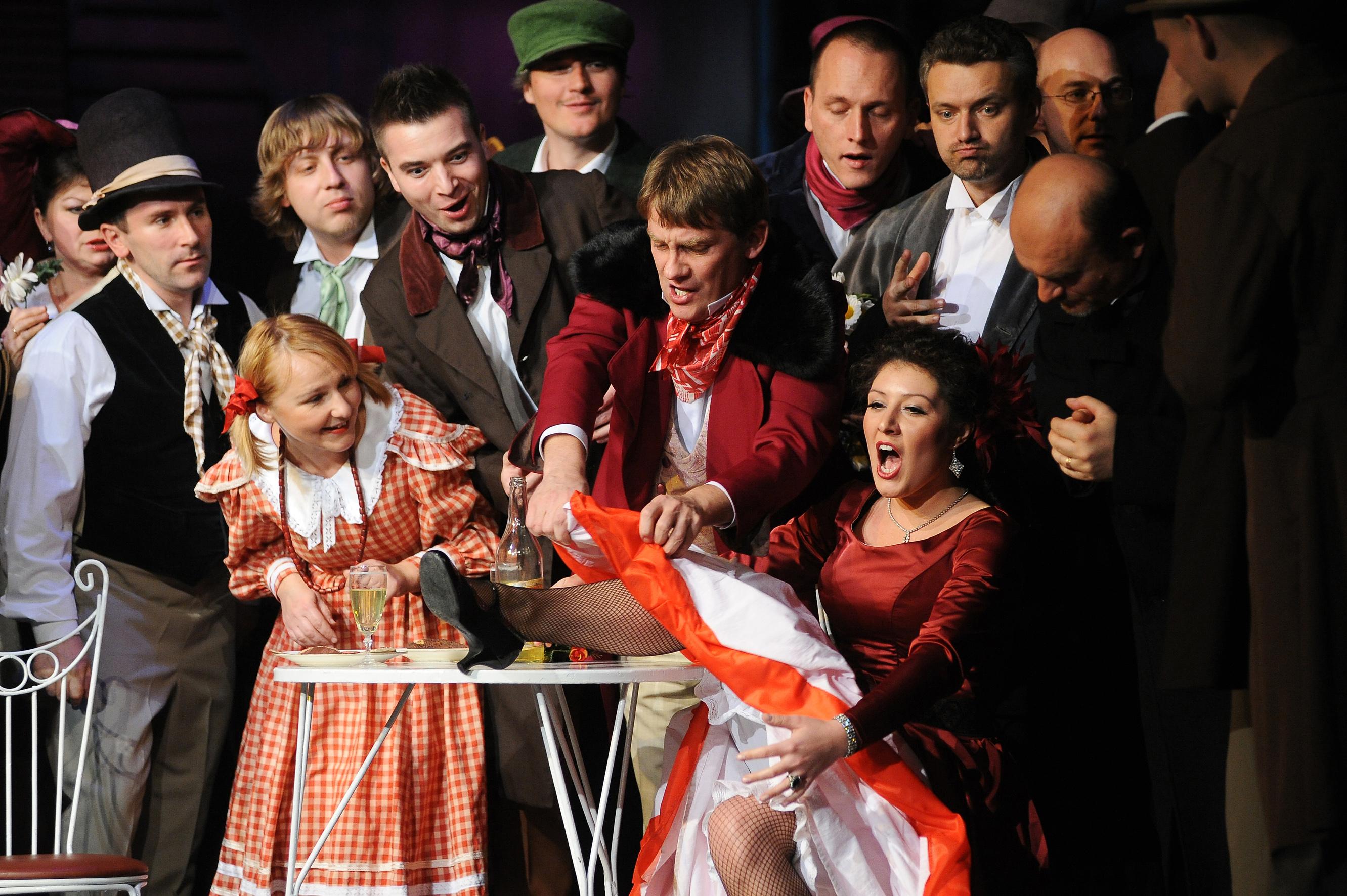 Opera Śląska Cyganeria, fot. Tomasz Zakrzewski