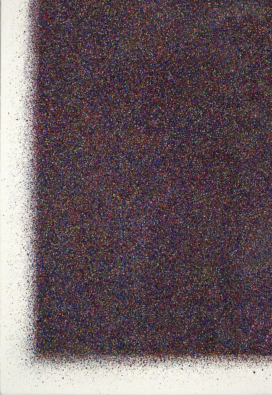 Sławomir Marzec, Bez tytułu, 2005/2006, akryl, płótno 160 x 115 cm