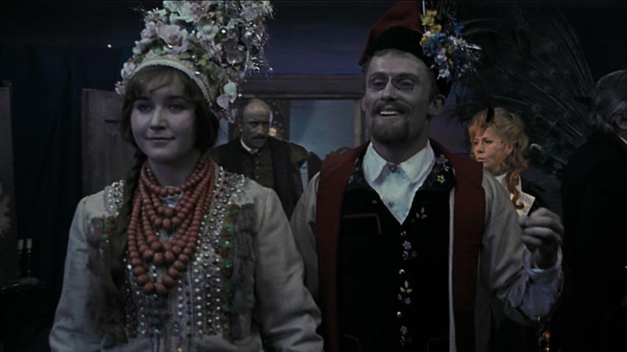 Kadr z Wesela Andrzeja Wajdy