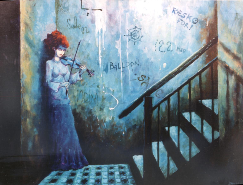 Witold Pazera, Paryskie wnętrze
