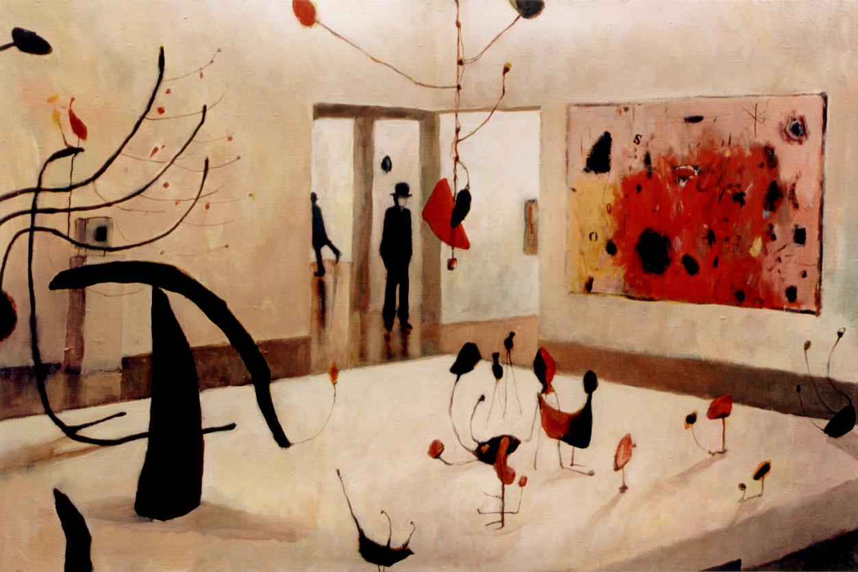 Witold Pazera, Sala Joana Miro z Centre Pompidou