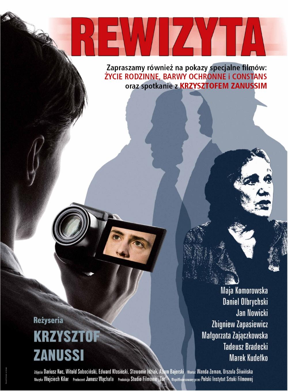 Filmowa Rewizyta - plakat