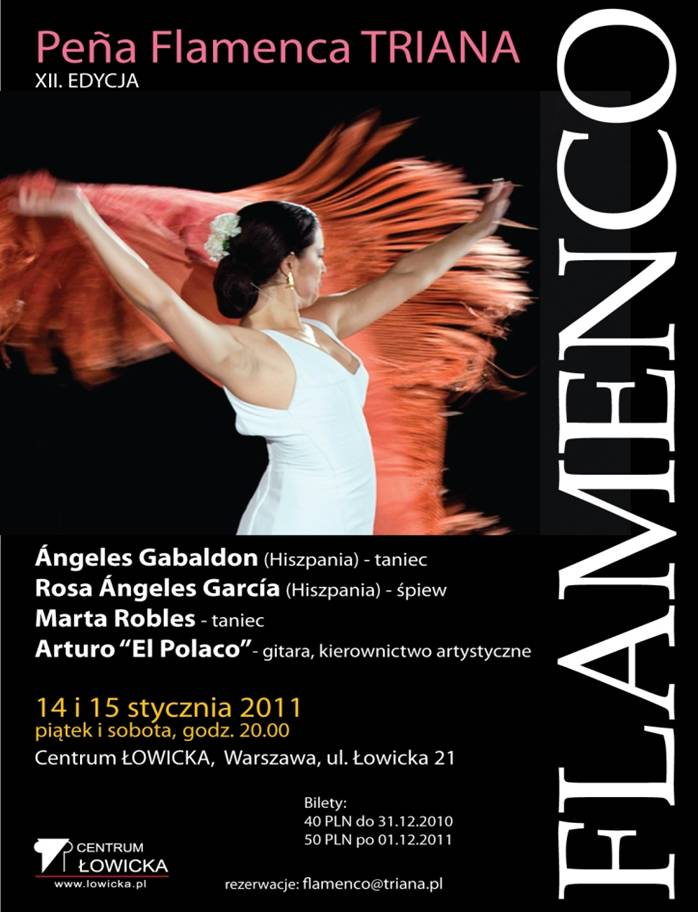 Pokaz Flamenco w Centrum Łowicka