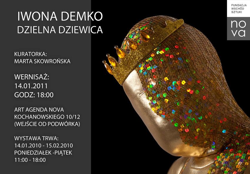 Iwona Demko, Dzielna dziewica - plakat