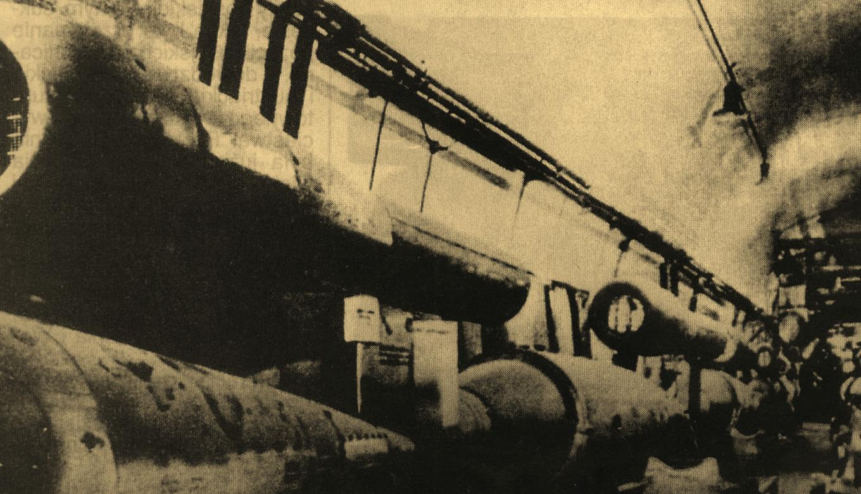V-1 w tunelu