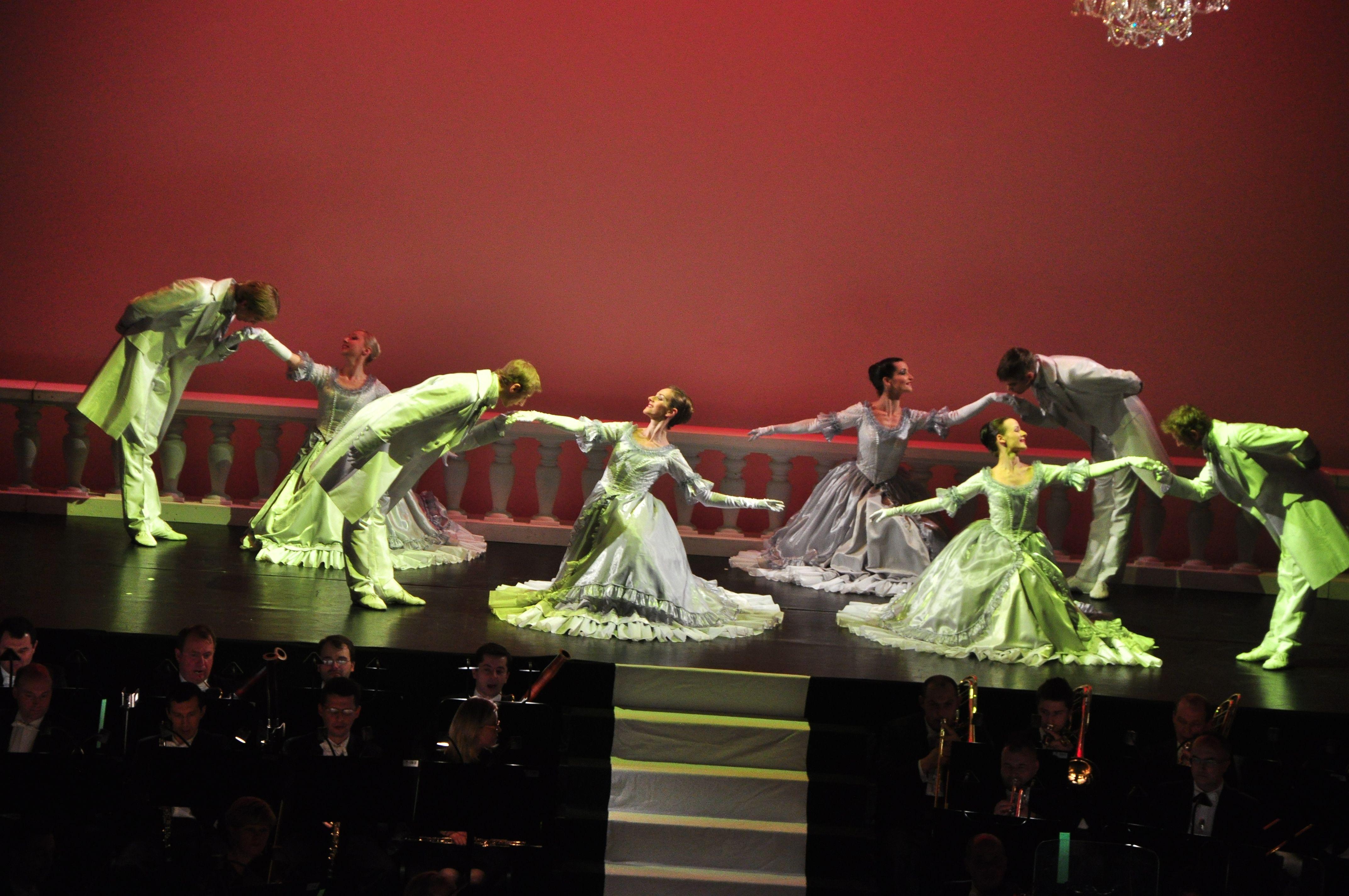 Tancerze baletu, fot. Z. Zawiślak