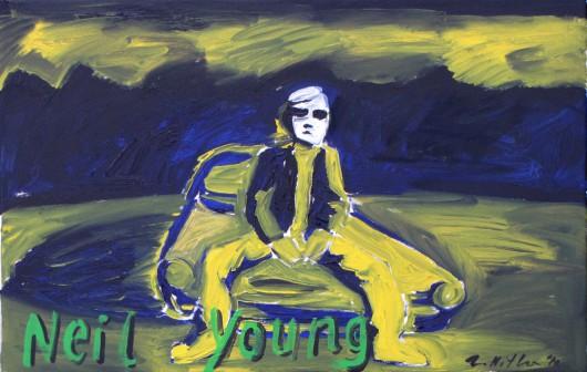 Zdzisław Nitka, Neil Young