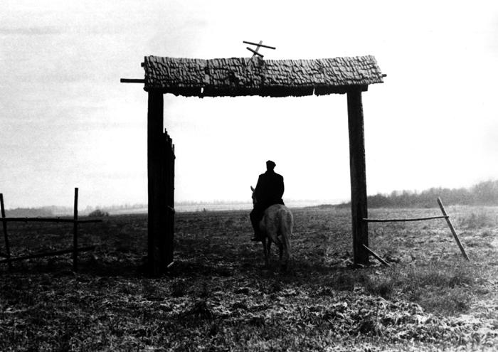 Kadr z filmu Czekista.