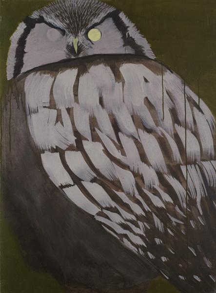 Magdalena Karpińska, Bez tytułu, 2010, tempera jajowa na płótnie, 73 x 54 cm