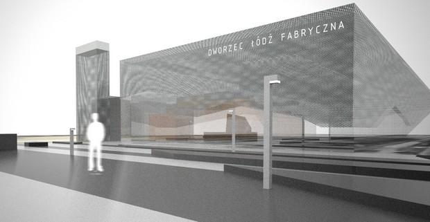Libido Architects, Nowy dworzec Łódź Fabryczna
