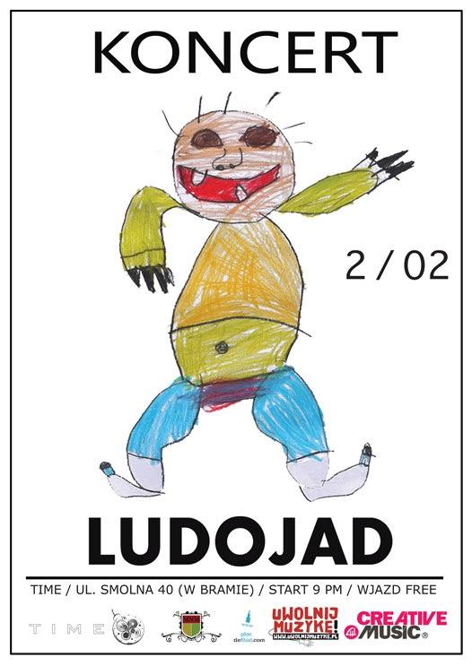 Koncert zespołów Ludojad i Miąższ