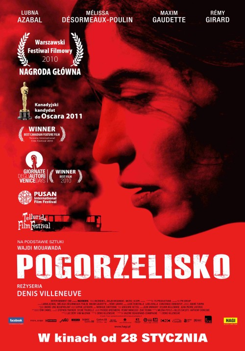 Pogorzelisko/Incendies reż. Denis Villeneuve, Francja/Kanada 2010, 130 min
