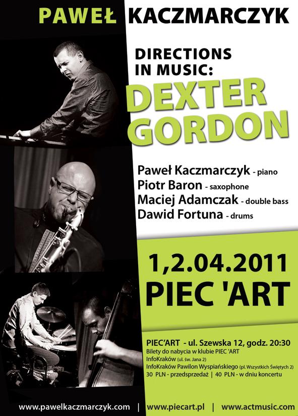 Plakat: Dexter Gordon