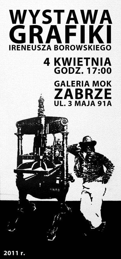 Ireneusz Borowski, Grafiki, plakat