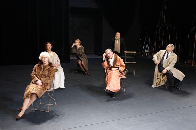 """Fot. R. Kornecki / """"Król umiera czyli ceremonie"""" / Narodowy Stary Teatr"""