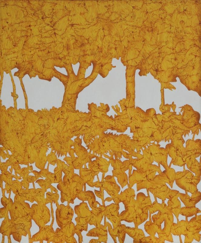 """Remigiusz Borda, """"Martwa natura z pejzażem"""", 2001"""
