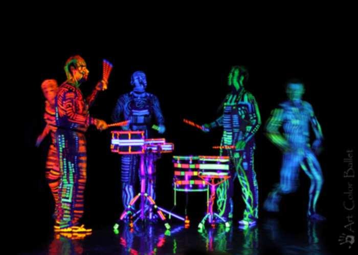 """Deep Trip Performance"" Art Color Ballet"