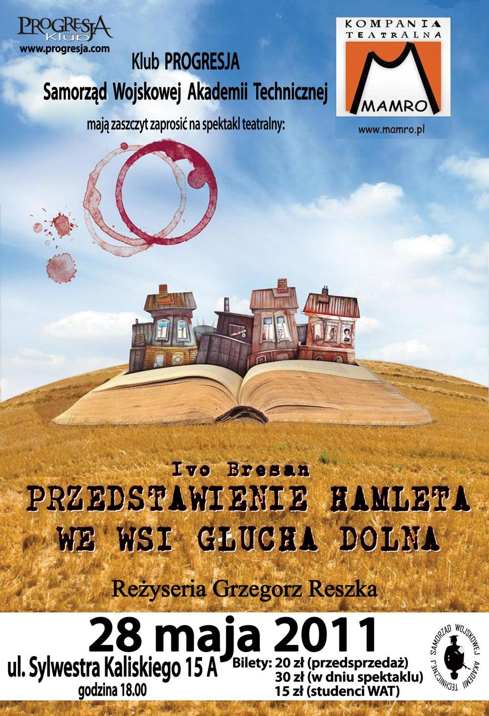 Przedstawienie Hamleta we Wsi Głucha Dolna