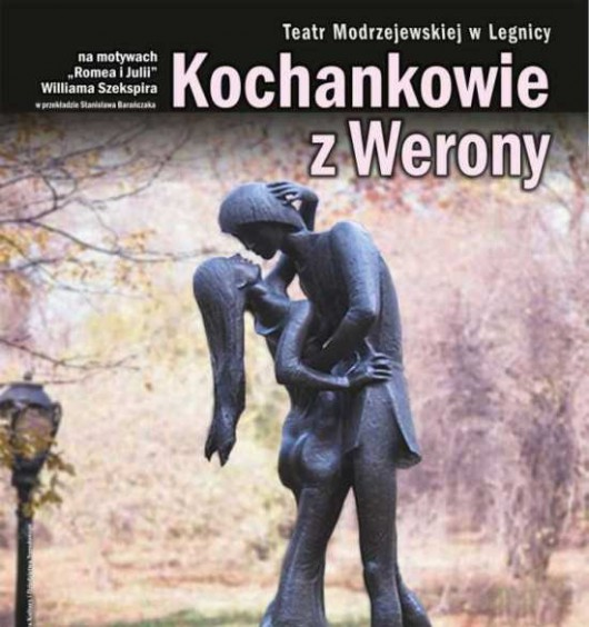 """Kochankowie z Werony"", plakat"