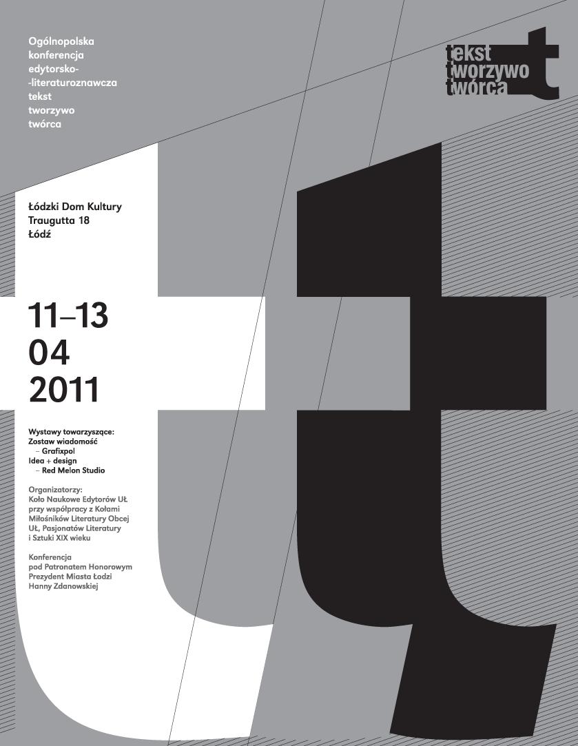 konferencja Tekst-Tworzywo-Twórca