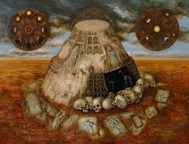 """Mariola Jaśko """"Wieża Babel"""", 2010"""