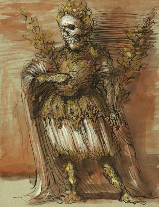 """Taniec śmierci"", Béla Faragó"