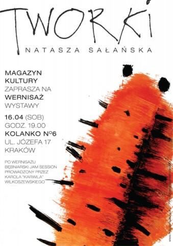 Tworki Nataszy Sałańskiej, plakat