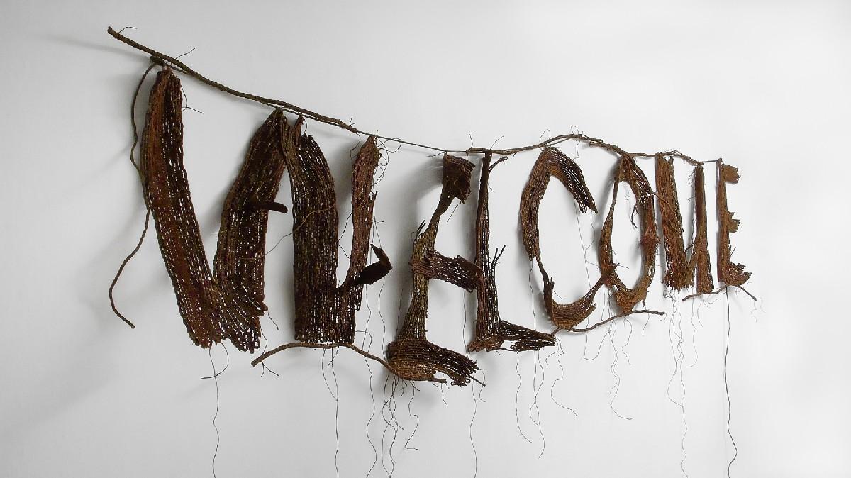 """Agnieszka Kalinowska, """"Welcome"""", 2010, materiał udostępniony przez galerię BWA Warszawa"""