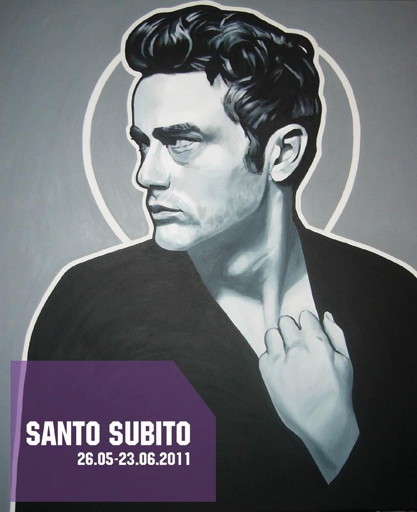 """Bartek Jarmoliński, """"Santo Subito"""", materiał udostępniony przez organizatora"""