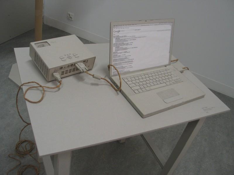 """Julita Wójcik """"Niewidzialna ręka to także Ty"""", 2008, szkic na kartonie"""