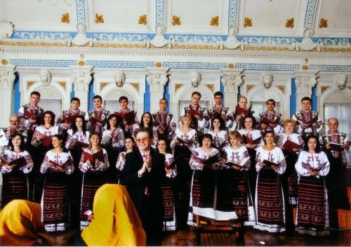 Chór uczestniczący w Krakowskich Spotkaniach z Muzyką Cerkiewną (zdj. udost. przez organizatora)