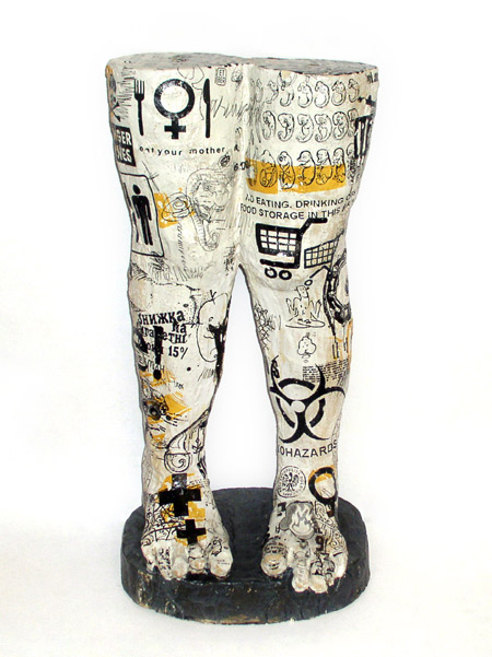 Małgorzata ET BER Warlikowska, z serii Eat your mother, ceramika, 2011, materiały udostepnione przez Galerię BB