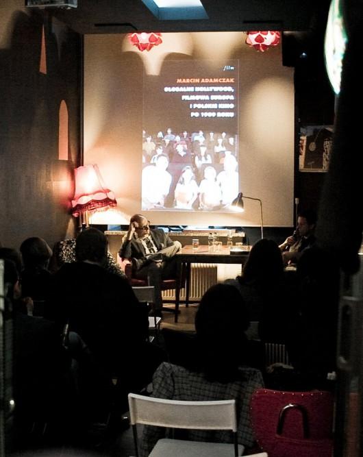 Spotkanie z Marcinem Adamczakiem w OiW. Materiały udostępnione przez organizatora