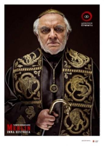 """""""Merlin. Inna historia"""" plakat"""