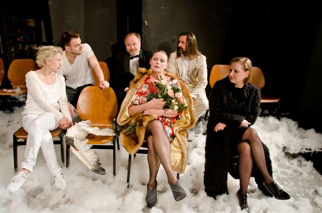 """Narodowy Stary Teatr, """"Mewa"""", reż. P. Miśkiewicz, zdjęcie z prób, fot. R. Kornecki"""