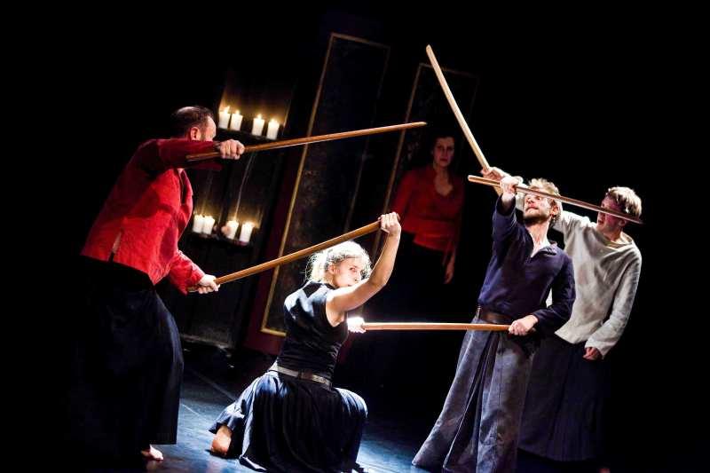 """Teatr Pieśń Kozła """"Macbeth"""", fot. Krzysztof Bieliński"""