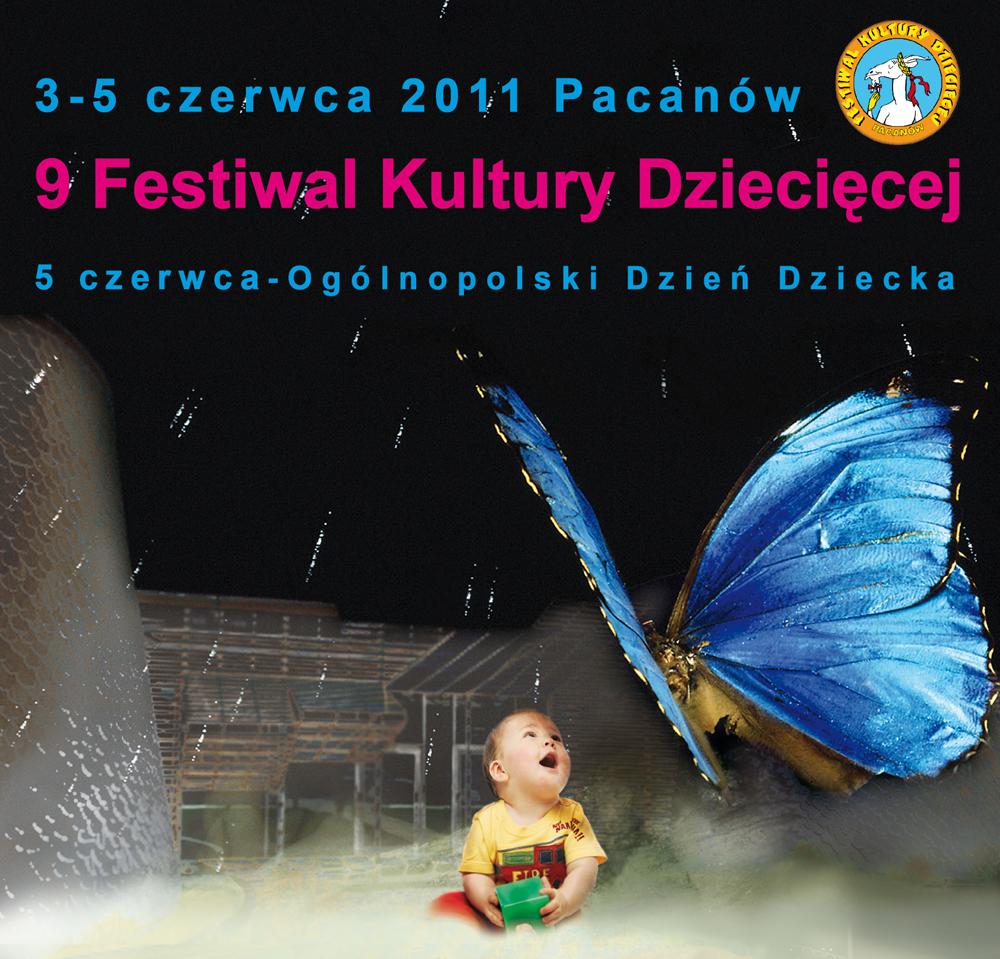 Plakat, 9. Festiwal Kultury Dziecięcej