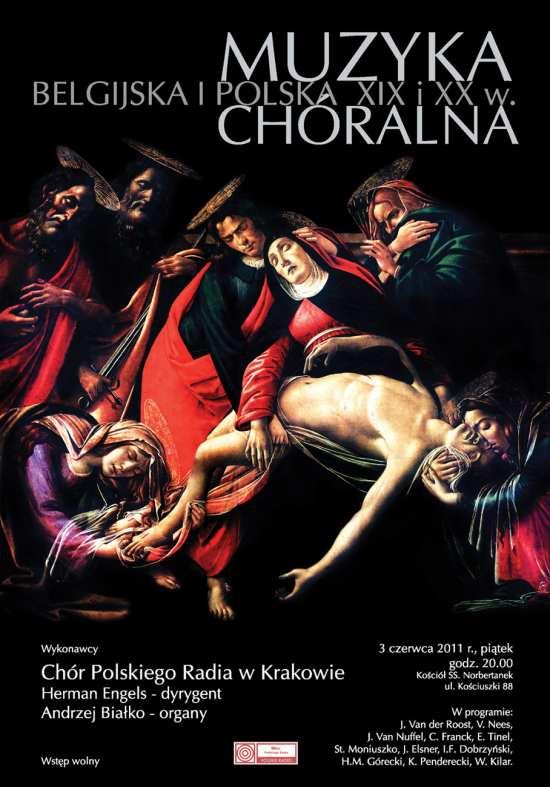 Koncert Chóru PR 3 czerwca 2011 roku, plakat