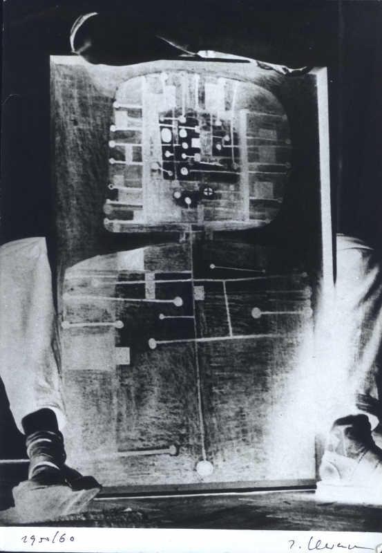 Jrzy Lewczyński, Portret Zdzisława Beksińskiego, 1979, z archiwum Jerzego i Kazimiery Lewczyńskich
