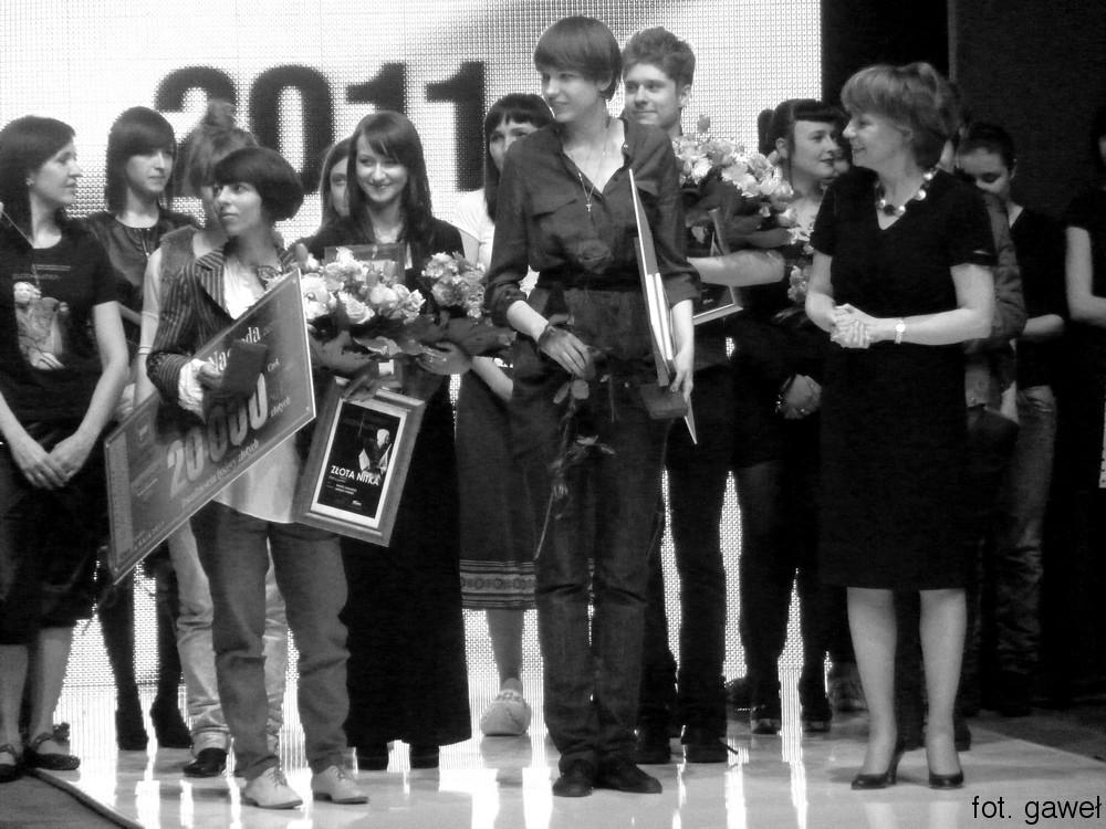 Zlota Nitka 2011 wręczenie nagród, fot. Gaweł